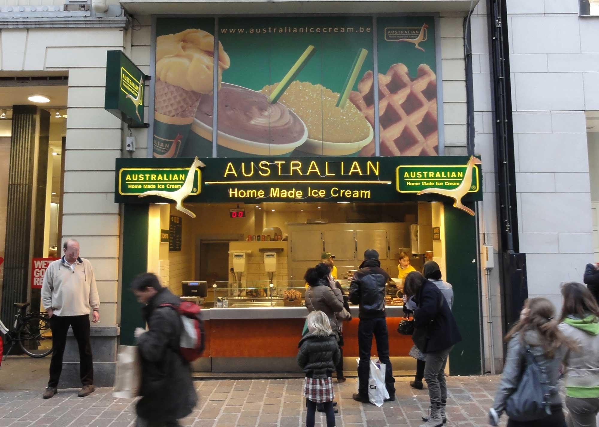 Australian Ice Ghent Veldstraat