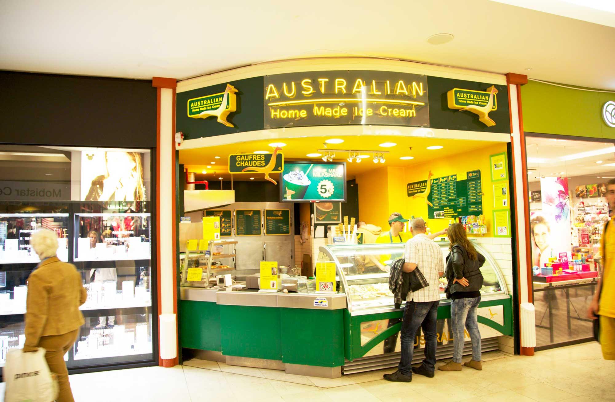 Australian Ice Charleroi Ville 2 Shopping